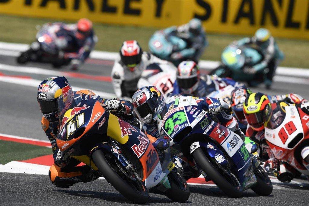 Brad Binder KTM RC250 GP Barcelona 2016