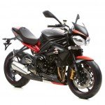 Triumph Street Triple 675R - 8 Ball custom - Dark
