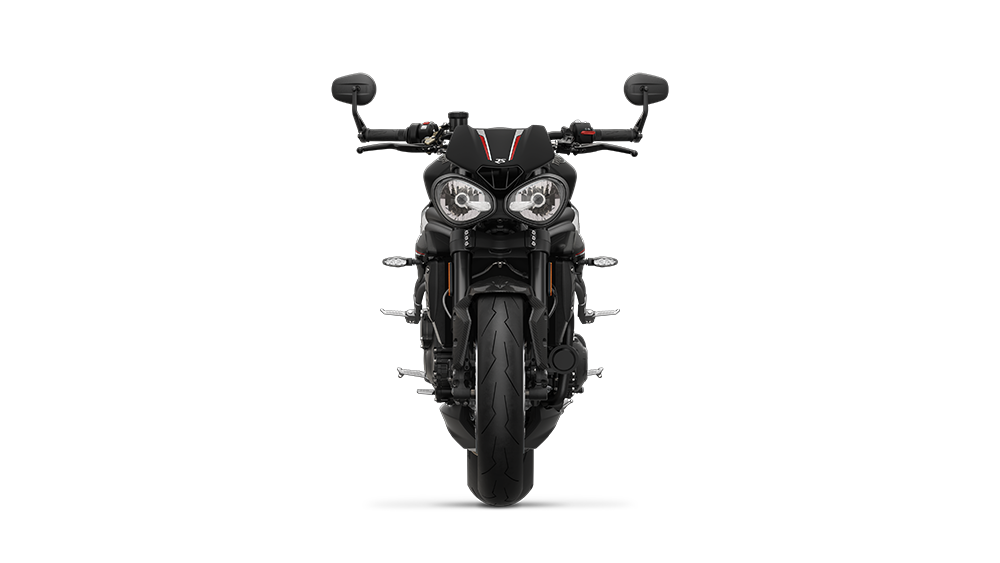Speed Triple RS - Front Matt Jet Black